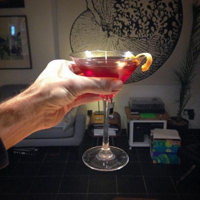 Negroni: Gin, Campari & vermouth.