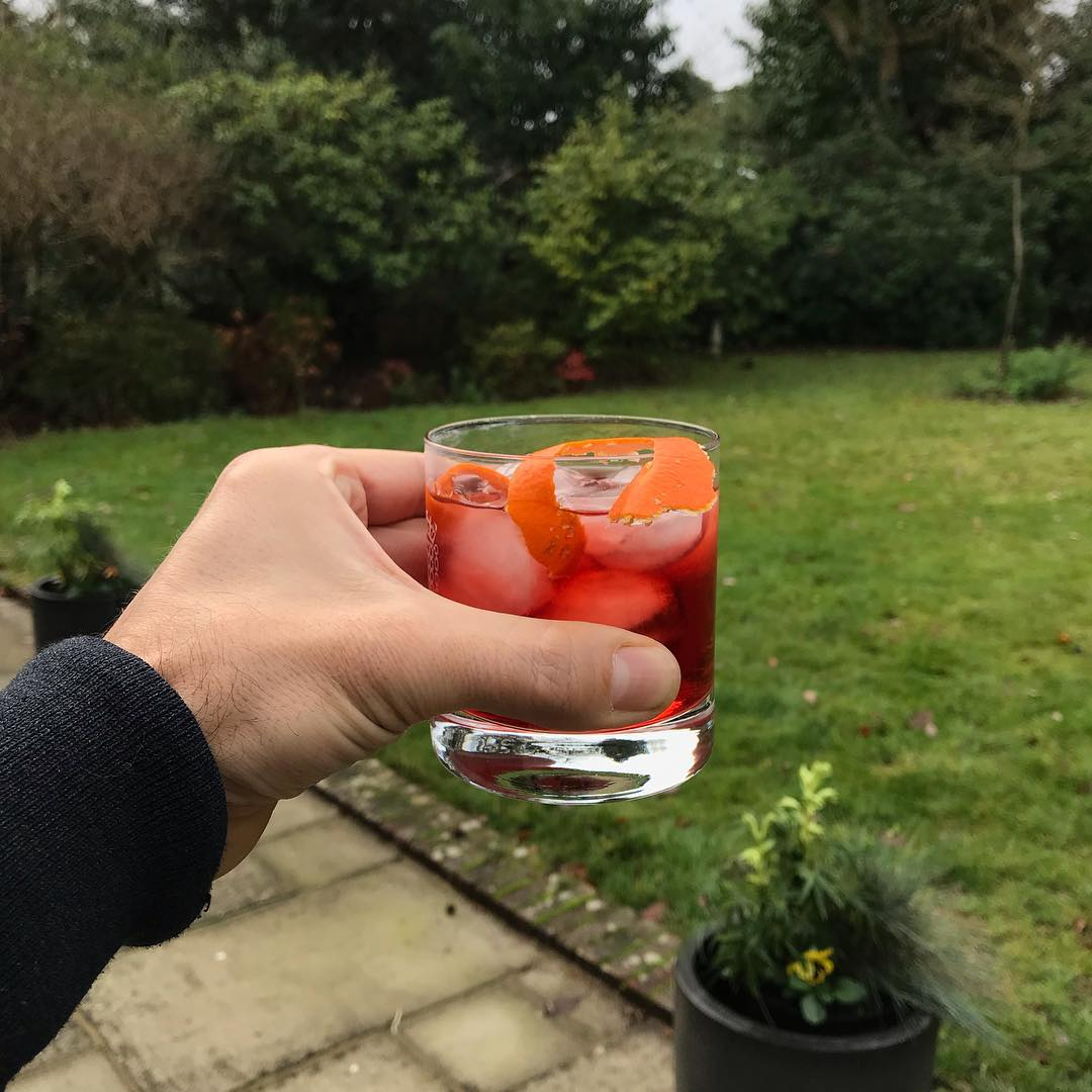 Breakfast Negroni